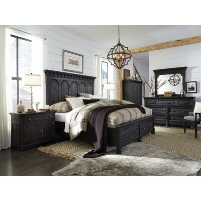 Alona Traditional Panel Customizable Bedroom Set