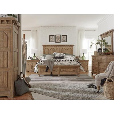 LaSalle Storage Panel Customizable Bedroom Set