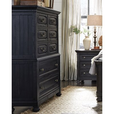 Alona 5 Drawer Wood Chest