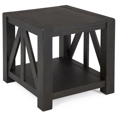 Natesha Rustic End Table