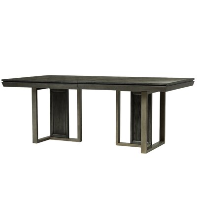 78 W Diehl Double Pedestal Table