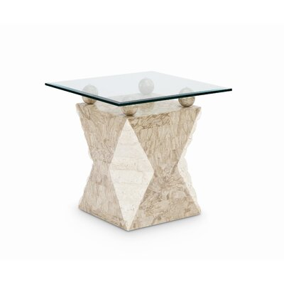 Cheap Magnussen Vertex End Table in Natural (ME4447)
