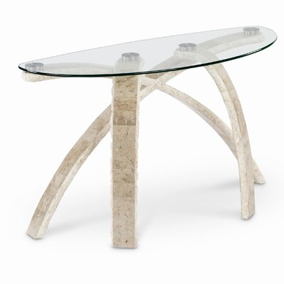 Cheap Magnussen Cascade Demilune Table in Natural (ME4458)