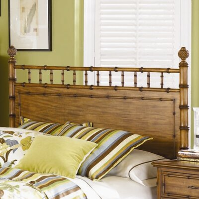 Palm Bay Wood Panel Headboard Size: King