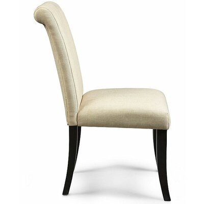 Braidmoor Side Chair Upholstery: Chablis