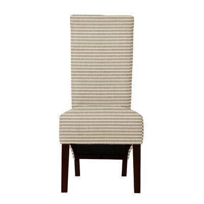 Keyesport Horizontal Stripe Parsons Chair