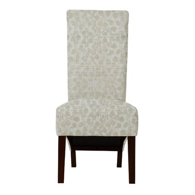 Audra Beige Parsons Chair (Set of 2)