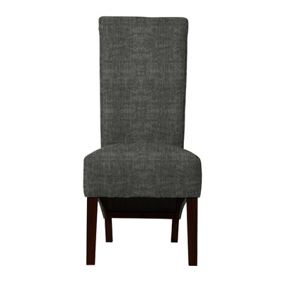 Keyesport Parsons Chair (Set of 2) Upholstery: Dark Gray