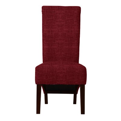 Keyesport Parsons Chair (Set of 2) Upholstery: Red