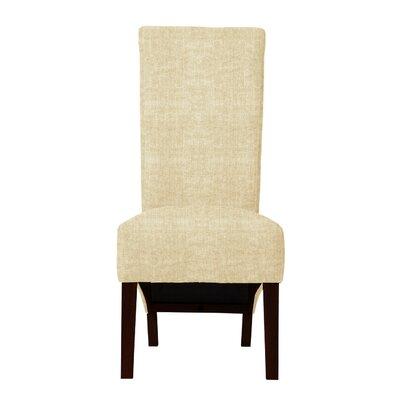 Keyesport Parsons Chair (Set of 2) Upholstery: Beige