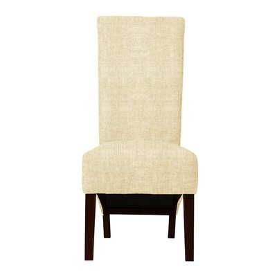 Keyesport Parsons Chair (Set of 2) Upholstery: Soft White