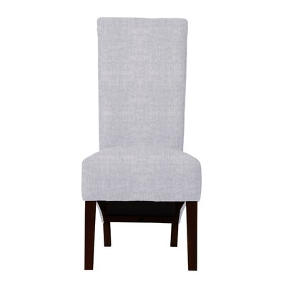 Keyesport Parsons Chair (Set of 2) Upholstery: Light Blue