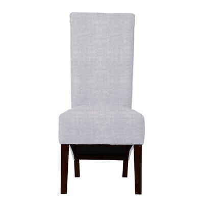 Keyesport Parsons Chair Upholstery: Light Blue