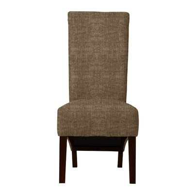 Keyesport Parsons Chair (Set of 2) Upholstery: Brown