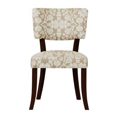 Petra Beige Upholstery Side Chair (Set of 2)