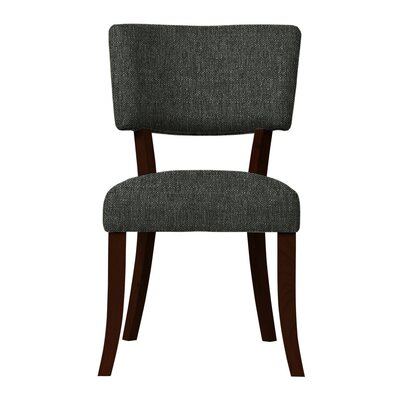 Larochelle Upholstered Side Chair Upholstery: Gray
