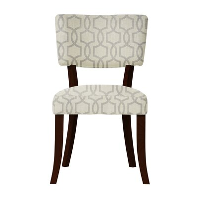 Petra Beige Fabric Side Chair
