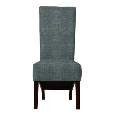 Keyesport Parsons Chair (Set of 2) Upholstery: Gray