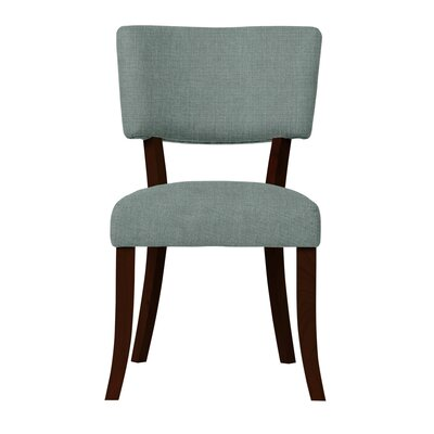 Larochelle Solid Back Side Chair (Set of 2) Upholstery: Light Blue