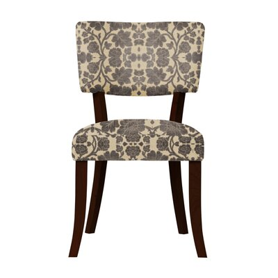 Petra Beige/Gray Upholstered Side Chair