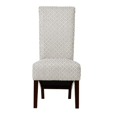 Keyesport Geometric Parsons Chair Upholstery: Gray