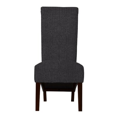 Keyesport Rough Cloth Parsons Chair Upholstery: Gray