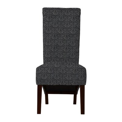 Keyesport Upholstered Parsons Chair (Set of 2) Upholstery: Dark Blue