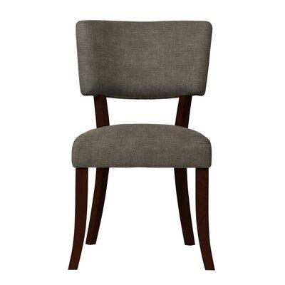 Larochelle Solid Upholstered Side Chair Upholstery: Light Gray