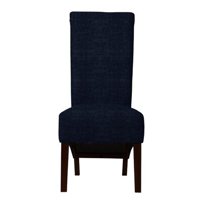 Keyesport Parsons Chair (Set of 2) Upholstery: Dark Blue