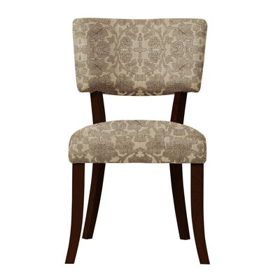 Petra Brown Fabric Side Chair