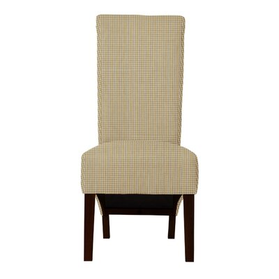 Keyesport Caro Parsons Chair (Set of 2) Upholstery: Beige