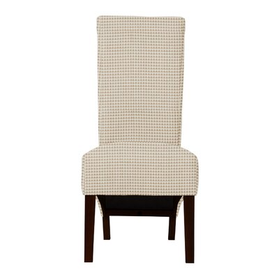 Keyesport Cotton Side Chair Upholstery: Beige