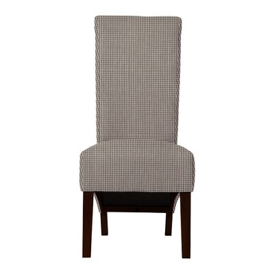 Keyesport Caro Parsons Chair (Set of 2) Upholstery: Gray