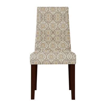 Haddonfield Beige Cotton Parsons Chair
