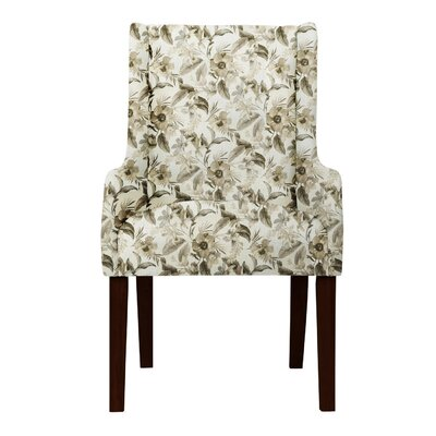 Larrabee Floral Cotton Arm Chair