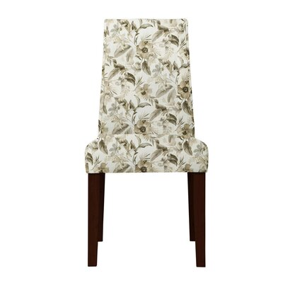 Haddonfield Green/Beige Parsons Chair