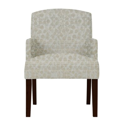 Keisha Gray Fabric Arm Chair