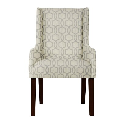 Larrabee Beige/Gray Arm Chair