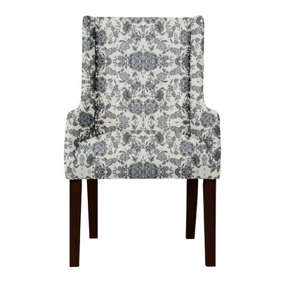 Larrabee Beige/Blue Arm Chair
