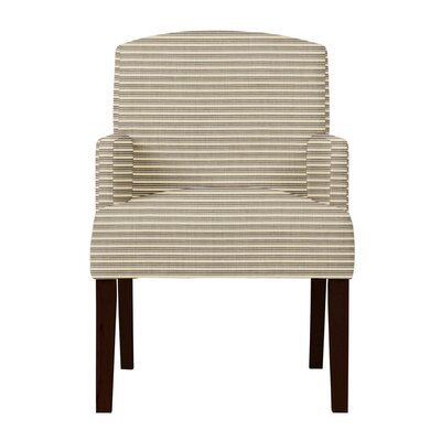 Larose Horizontal Stripes Arm Chair