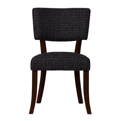 Larochelle Fusion Side Chair Upholstery: Black