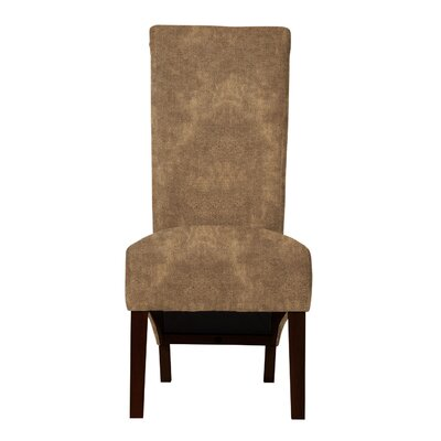 Keyesport Upholstered Formal Side Chair Upholstery: Light Brown