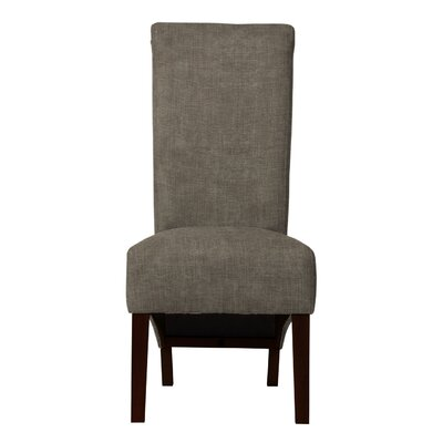 Keyesport Upholstered Formal Parsons Chair Upholstery: Light Gray