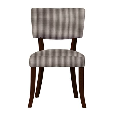 Larochelle Upholstered Back Side Chair (Set of 2) Upholstery: Gray