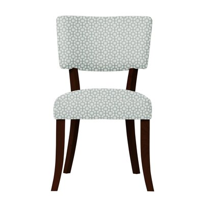 Larochelle Upholstered Solid Back Side Chair Upholstery: Light Blue