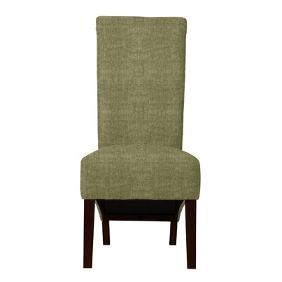 Keyesport Parsons Chair Upholstery: Light Green