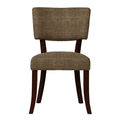 Larochelle Sonoma Fabric Side Chair Upholstery: Brown