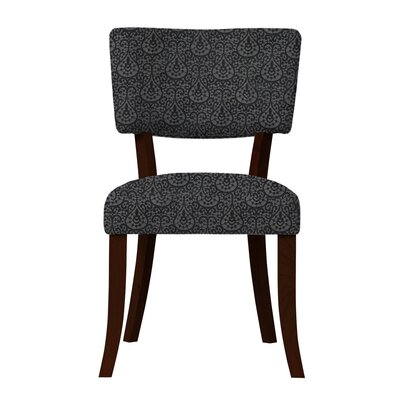 Petra Fabric Side Chair Upholstery: Dark Blue