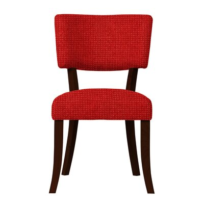 Larochelle Fusion Side Chair (Set of 2) Upholstery: Red
