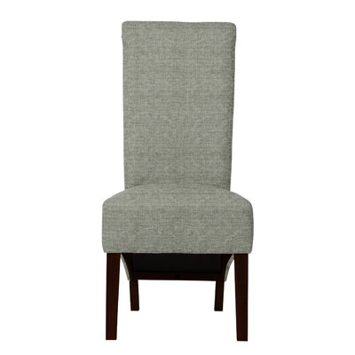 Keyesport Solid Back Side Chair Upholstery: Gray